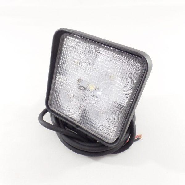 LED WERKLAMP PLAT MODEL (vierkant 110mm)**